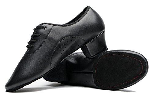 Gogodance-Mens-Boys-Adult-Dance-Shoes-For-Latin-Ballroom-Jazz-Tango-Modern-Dance-Leather-Sneakers-75-DM-US