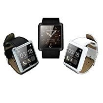 Bluetooth Smart Touch Wrist Watch Calls For iPhone IOS Android Color Black