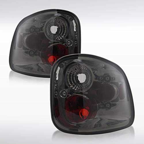 Autozensation For Ford F150 / F150 Heritage Flareside Smoke Rear Tail Brake Lights