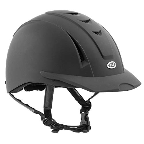 International Riding Helmets Equi-Pro Helmet, Matt Black, - Equipment Riding