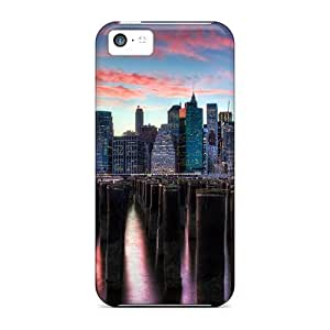 With Nice Appearance (skyscrapers) For SamSung Galaxy S5 Mini Case Cover