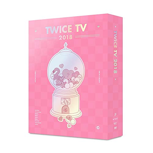 Price comparison product image Twice - Twice TV 2018 4DVD+5Photocard+Double Side Extra Photocards Set