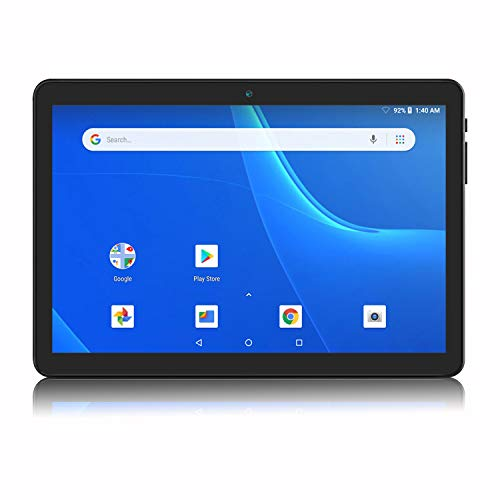 Android Tablet 10 Inch, 5G WiFi Tablet, 16 GB Storage, Google Certified, Android 8.1 Go, Dual Camera, Bluetooth, GPS - Black (Best Android Os For Tablet)