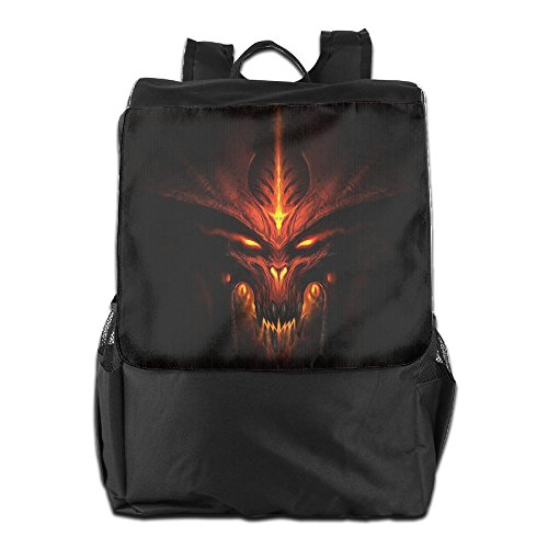 [ARPG Diablo 3 Fathom Studios Logo Outdoor Backpack Travel Bag] (Diablo Reaper Of Souls Costume)