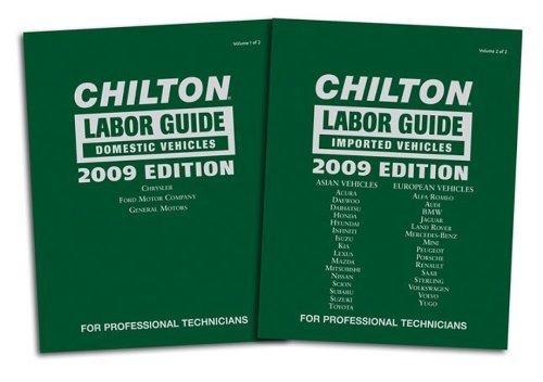 (Chilton 2009 Labor Guide Manuals: Domestic and Imported (Chilton Labor Guide) by Chilton (2008-12-16))