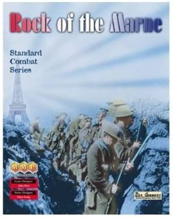 Standard Combat Series MMP: Rock of The Marne Board Game