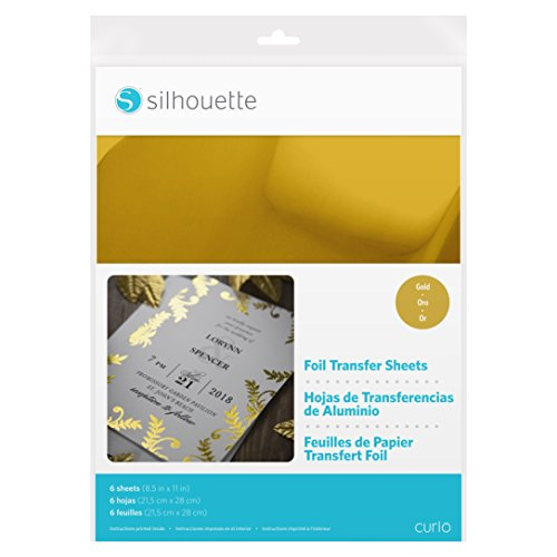 Silhouette Foil Transfer Sheets - Gold -