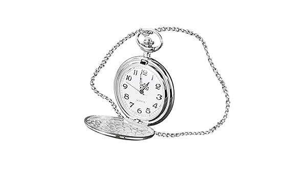 Coconano Reloj De Bolsillo Mecánico, Estilo Vintage, Unisex ...
