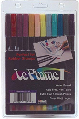 (Leplume Ii Markers (Victorian Colors) - 12 per)