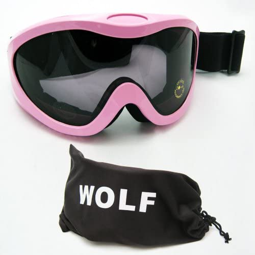 Ski Snow Goggles Snowboard Glasses Skiing Sports Adult Womens Lens Snow Pink New