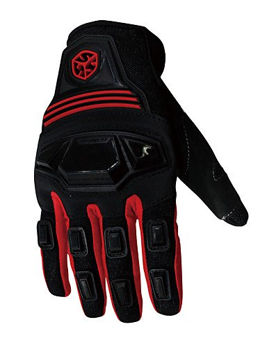 ZWC Professional Motorcycle Motocross Racing Full Finger Gloves Sportswear Cycling Outdoor Sports Gloves Red -Scoyco , red-xl , red-xl