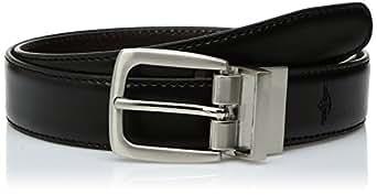 Dockers Men's Big Boys' Dockers Reversible Black-to-Brown Belt,Brn/Blk,