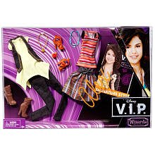 Mattel Disney V.I.P. Alex Russo Fashion And Accessory Pack - Hannah Montana Clothing Collection