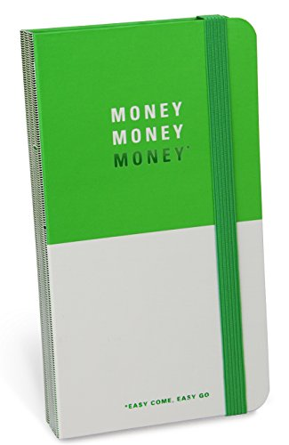 Knock Knock Money, Money, Money Receipt Catcher (Receipt Organizer Wallet)