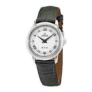 Omega De Ville Prestige 424.13.27.60.52.002 - Reloj de Pulsera para Mujer (Esfera de Diamante, Color Blanco y Plateado) 9