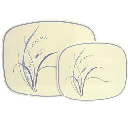 Corelle Coordinates Counter Mats, Set of 2, Coastal (Corelle Burner Covers)