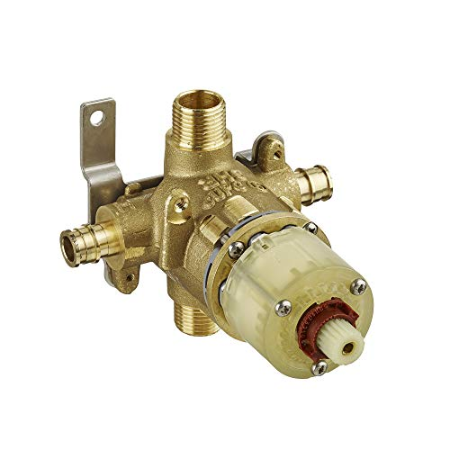 American Standard R118 Pressure Balance Rough Valve Body with Pex Inlets/Universal Outlets for Cold Expansion System No Finish ()
