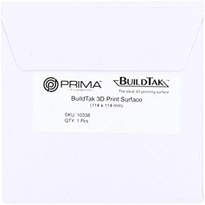 BuildTak 3D Print Surface - 114 x 114 mm (4,5´ x 4,5´): Amazon.es ...