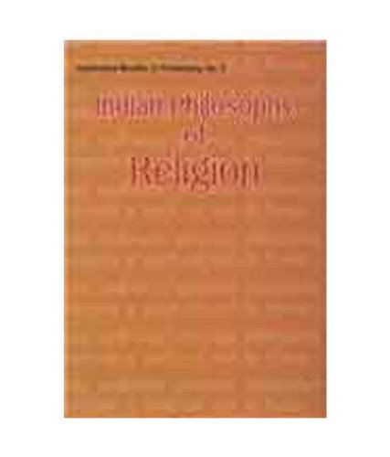 Indian Philosophy of Religion (Hyderabad Studies in Philosoph) (Hyderabad Studies in Philosophy)
