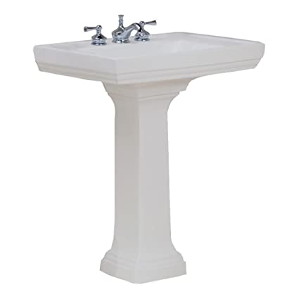 St. Thomas Creations 5401.082.01 Presley Lavatory Only, 8u0026quot; Faucet  Center,