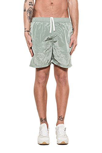 Stone Island Men's 6815B0943v0052 Green Polyamide Trunks by Stone Island