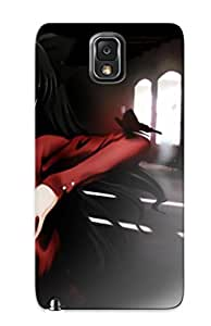Awesome Fatestay Night Tohsaka Rin Fate Series Flip Case With Fashion Design For Galaxy Note 3 by icecream design