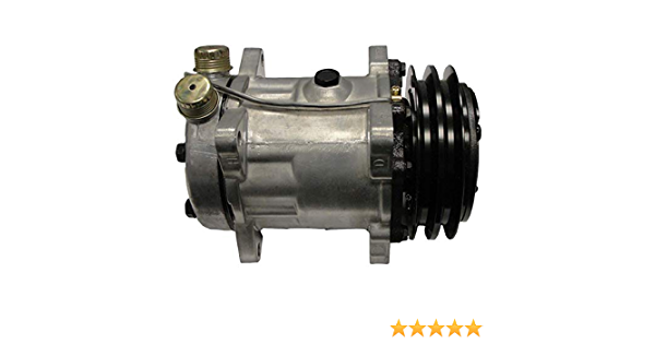 5165548//5165549 Agriculture Line A//C Compressor Fits Ford Fits New Holland Tract