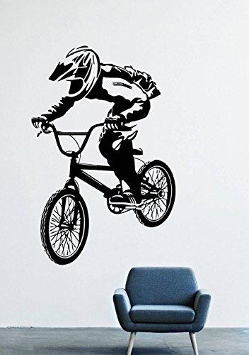 Cheap  Motocross BMX Wall Decals Decor Vinyl Stickers GMO2154