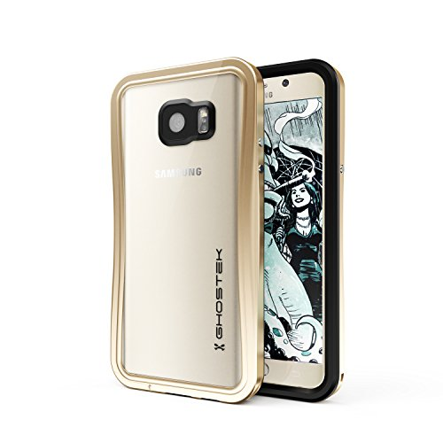 Ghostek Note 5 Waterproof Case, Atomic 2.0 Series for Samsung Galaxy Note 5, Full-Body Underwater/Waterproof/Shockproof/Dirt-proof/Snow-proof/Slim Premium Case/Aluminum Frame – Gold