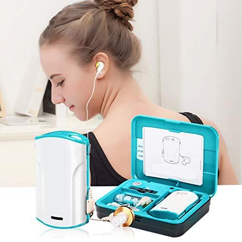 Personal Amplificador De Sonido De Bolsillo, Dispositivo De Mejora De Sonido Inteligente Reducción De Ruido Ajustable Caja...