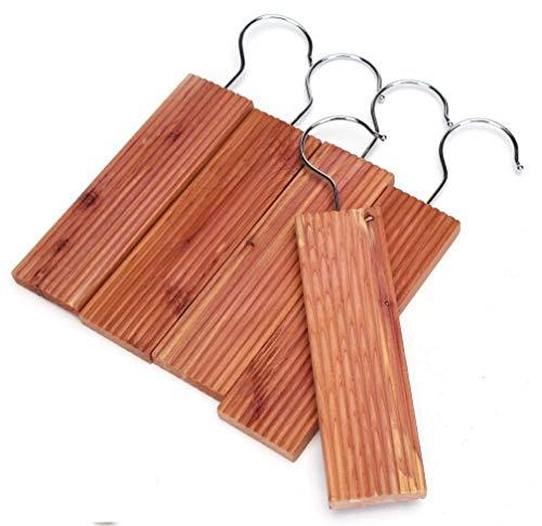 Wahdawn Cedar Balls and Cedar Hangups for Closet Clothes Storage Protection & Odor Fresh, 25 Pack