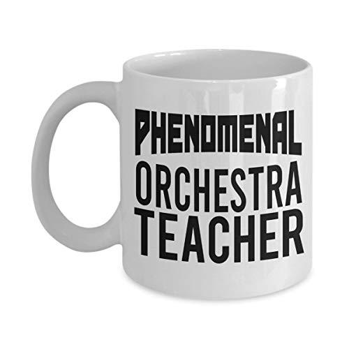 Coffee Concerto Gift (Phenomenal Orchestra Teacher Mug Gifts Funny Gag Gift Coffee Mug Tea Cup White 11 oz)
