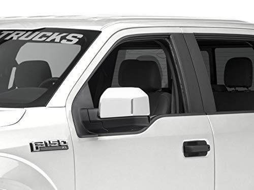 Ford F150 Chrome Accessories - SpeedForm Chrome Top Half Mirror Covers for Standard Mirrors - for Ford F-150 2015-2019