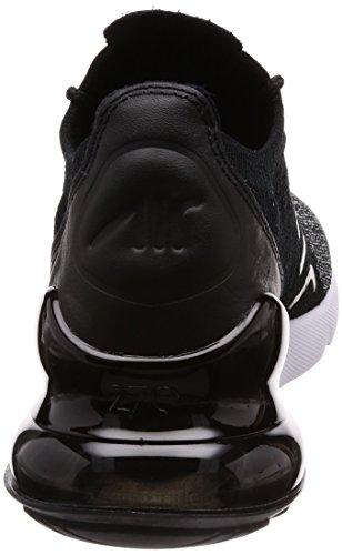 Uomo 001 Basse Black Air Ginnastica Scarpe 270 Nero NIKE Black da Flyknit Max White R4x8O