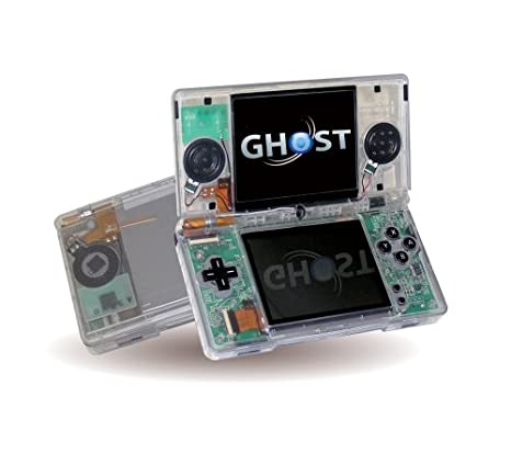 Amazon.com: Nintendo DS Lite Clear Black Ghost Case: Video Games
