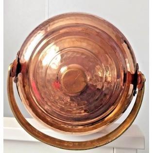 Copper Water Pot Dispenser 2.6 gal / 9.8 ltr Tank w/ Tap Faucet Kitchen Yoga