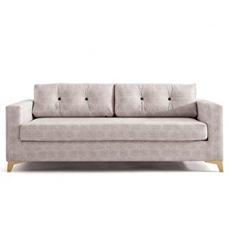 SHIITO Sofá Tres plazas con Cama de 80 x 180 cm tapizado en ...