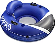 Pool Floats Adult, Lake Floats for Adults Heavy Duty, Water Floats for Adults, River Run I Sport Lounge with H
