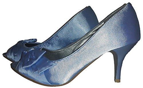3-W-Hohenlimburg - Zapatos de vestir para mujer Azul - Blau.