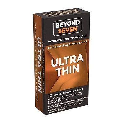 Okamoto Beyond Seven Aloe Lubricated Condom Qty 36 Condoms - LOW SHIPPING!