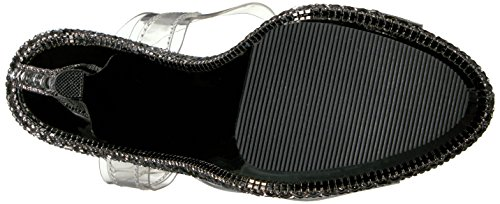 Pleaser KISS-208RS-1 Clr/Blk