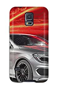 Durable Defender Case For Galaxy S5 Tpu Cover(mercedes Cla 4)
