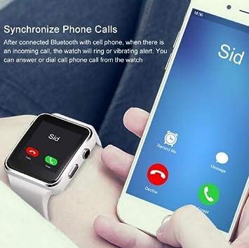 JDTECK Motorola Moto G6 Watch Connected, SmartWatch SIM/TF ...