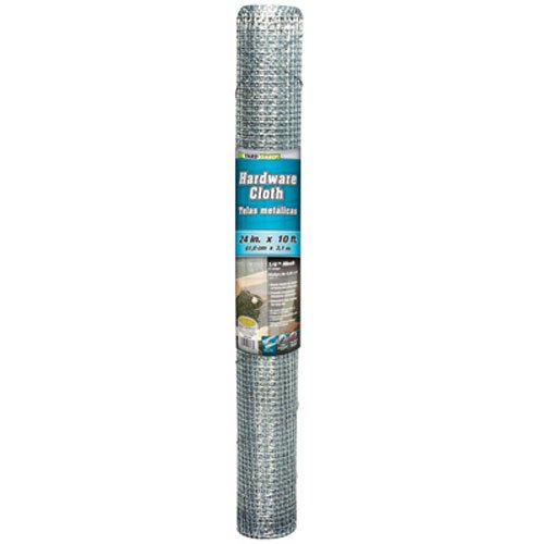 YARDGARD 308235B Fence, Height-24 Inches x Length-10 Ft, Silver
