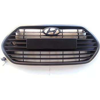 Hyundai Motors Genuine Front Hood Bumper Radiator Grill 2-pc Set For 2013 Hyundai Veloster Turbo