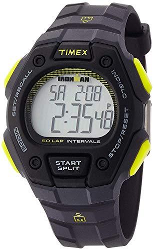 Timex Ironman Classic 50-Lap Full-Size Watch - Gray/Black/Yellow ()
