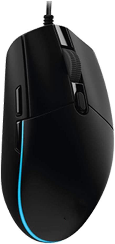 BINGFEI Gaming Wired Mouse Optical 200-8000 DPI Programming Mouse Support Desktop//Laptop Support Windows 10//8//7,Black