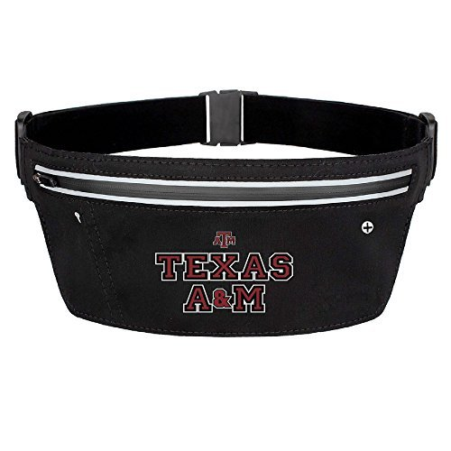 CGHNG Outdoor Bumbag Texas A&M University Mini Dumpling Waist Bag Packs Waist Bag Pouch For Women Man Outdoors Workout - Great For Running Hiking Travel Sport Fishing (Kindle Fire 7 Redskin Case)
