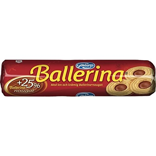 Goteborgs Ballerina Kex - Biscuits with Nougat Filling - 190g
