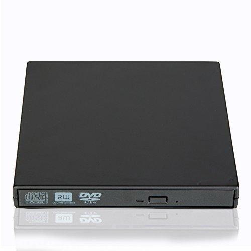 Ploveyy External DVD Writer, Portable Ultra Slim External US